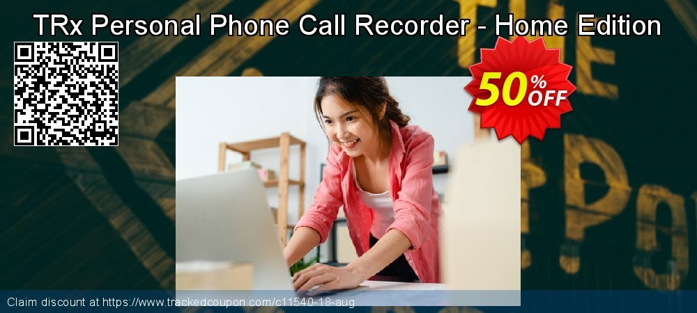 Get 15% OFF TRx Personal Phone Call Recorder - Home Edition deals