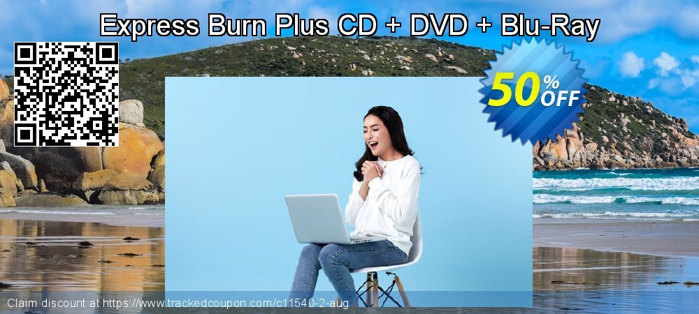Express Burn Plus CD + DVD + Blu-Ray coupon on Happy New Year discount