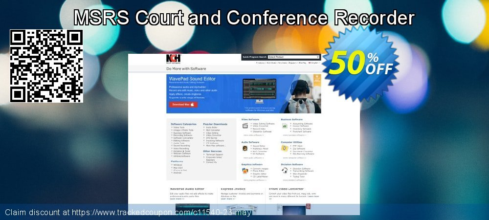 MSRS Court and Conference Recorder coupon on Lunar New Year super sale