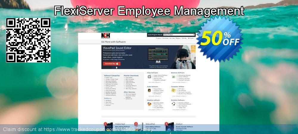 FlexiServer Employee Management coupon on New Year's Day promotions