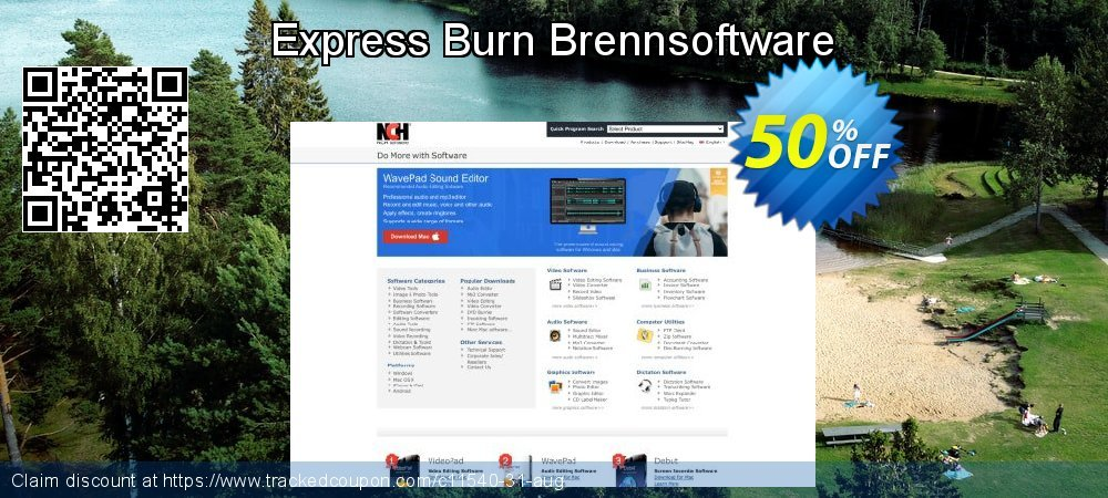 Express Burn Brennsoftware coupon on Lunar New Year offering sales