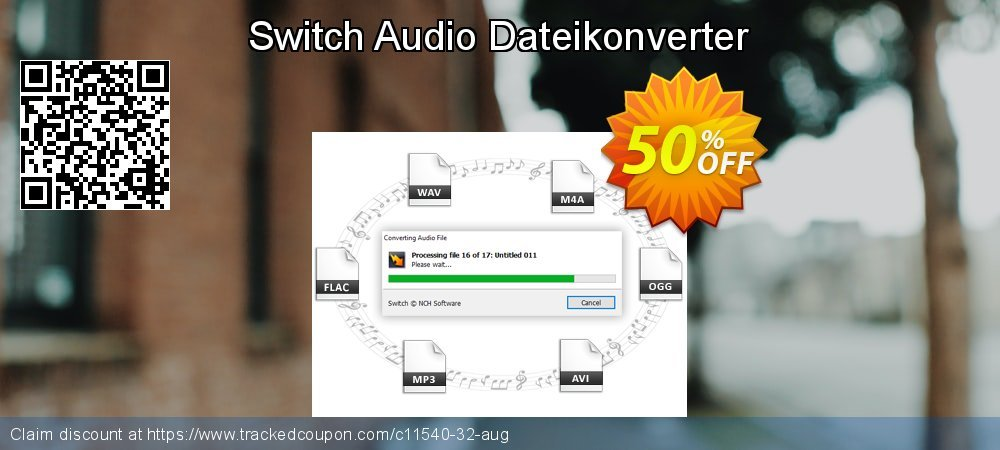 Switch Audio Dateikonverter coupon on New Year super sale
