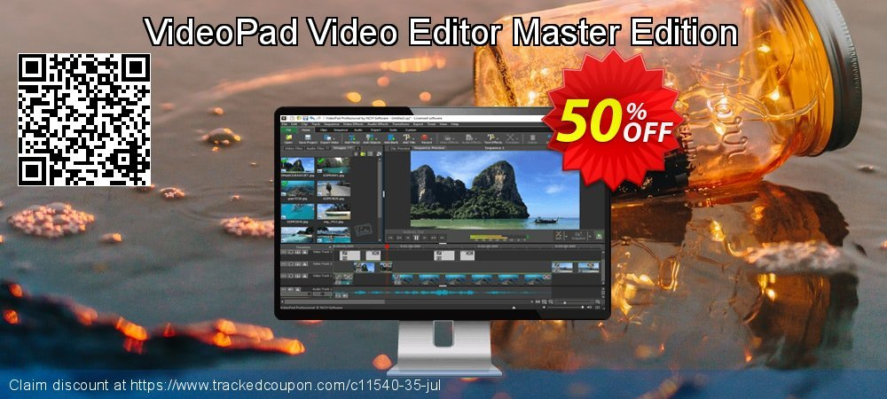 VideoPad Video Editor Master Edition coupon on Lunar New Year sales