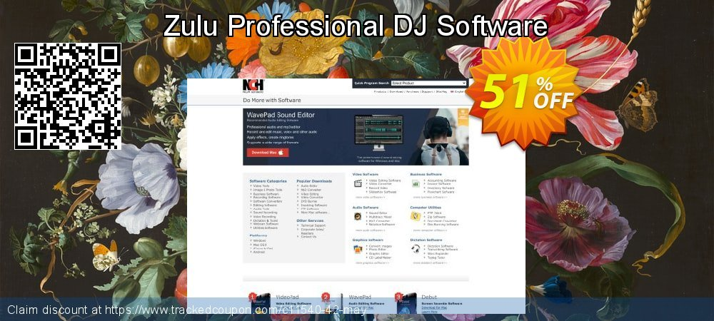 Zulu Professional DJ Software coupon on Happy New Year discounts