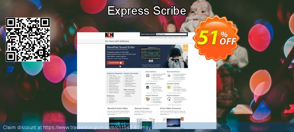 Express Scribe coupon on Lunar New Year discount
