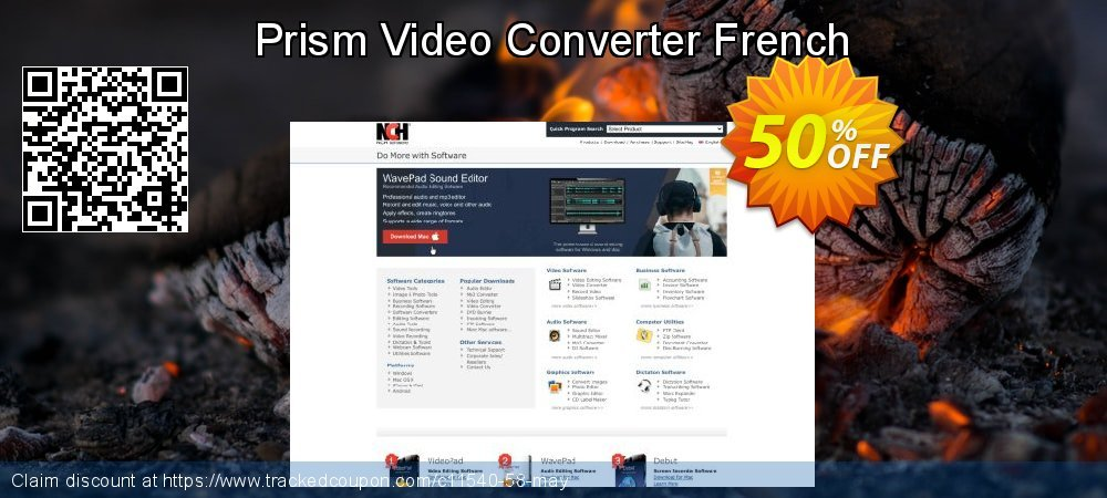 Get 15% OFF Prism Video Converter French offer