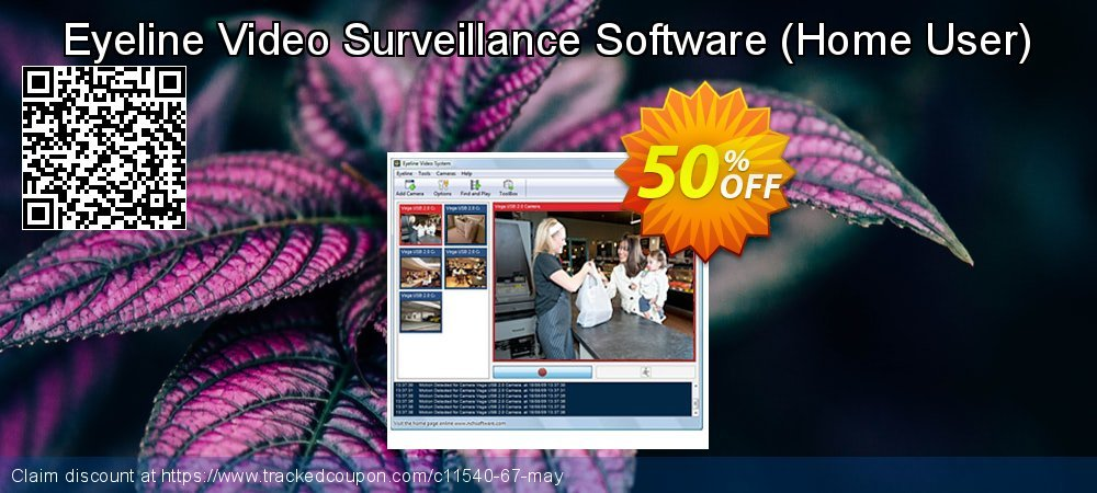 Eyeline Video Surveillance Software - Home User  coupon on Lunar New Year offering sales