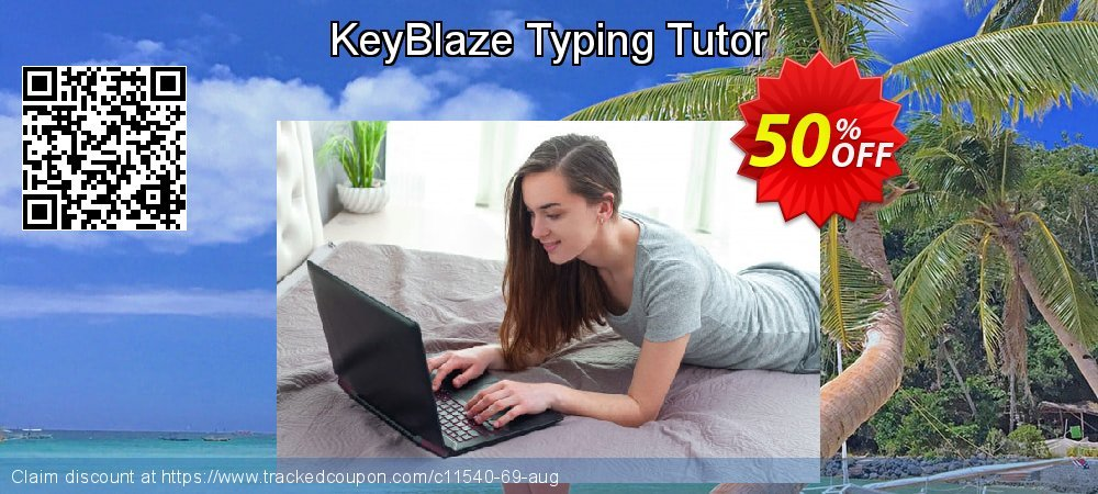 KeyBlaze Typing Tutor coupon on New Year's Day discounts