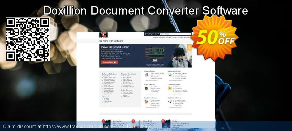 Get 15% OFF Doxillion Document Converter Software offering sales