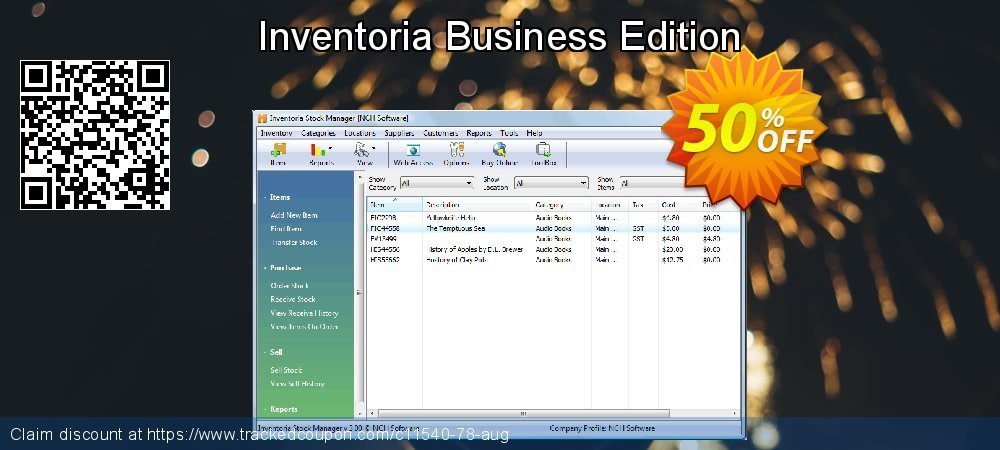 Inventoria Business Edition coupon on Happy New Year discounts