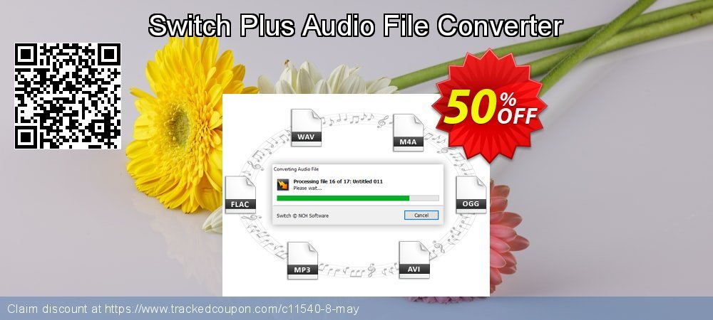 [15% OFF] Switch Plus Audio File Converter Coupon on Back to School  promotions discounts, August 2019