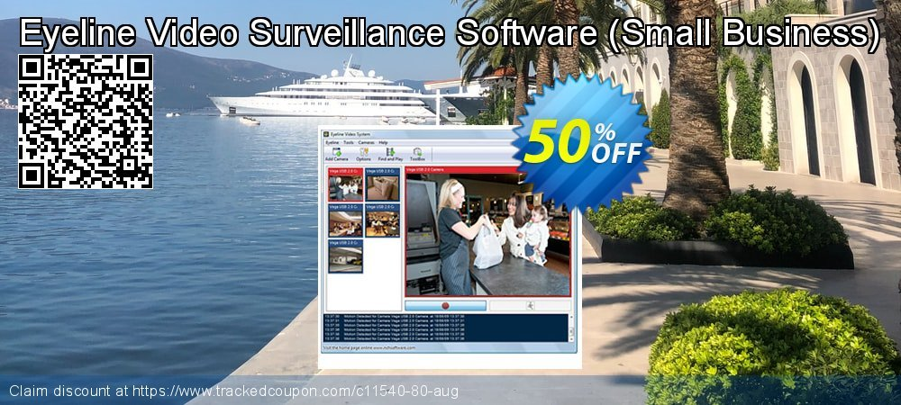 Eyeline Video Surveillance Software - Small Business  coupon on New Year sales