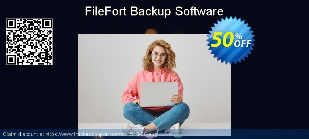 FileFort Backup Software coupon on New Year promotions