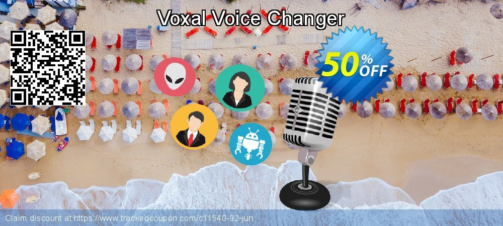 Voxal Voice Changer coupon on New Year discount