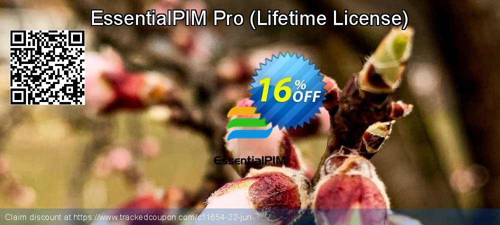 EssentialPIM Pro - Lifetime License  coupon on Happy New Year offer