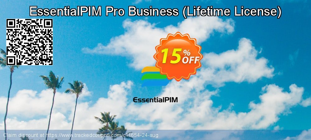 EssentialPIM Pro Business - Lifetime License  coupon on Father's Day sales