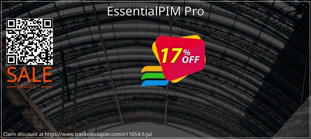 Get 15% OFF EssentialPIM Pro Desktop or Portable discount