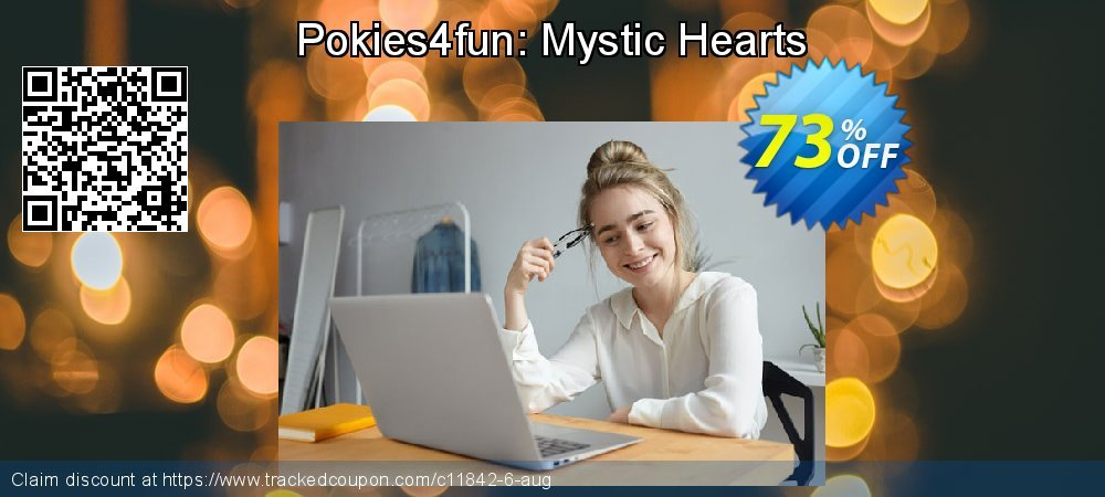 Get 70% OFF Pokies4fun: Mystic Hearts discount