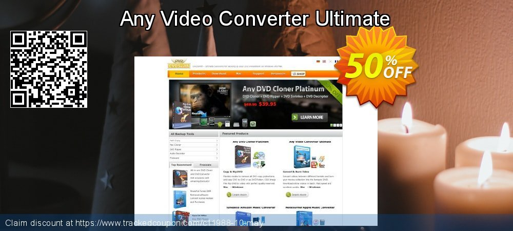 Any Video Converter Ultimate for MAC coupon on US Independence Day super sale