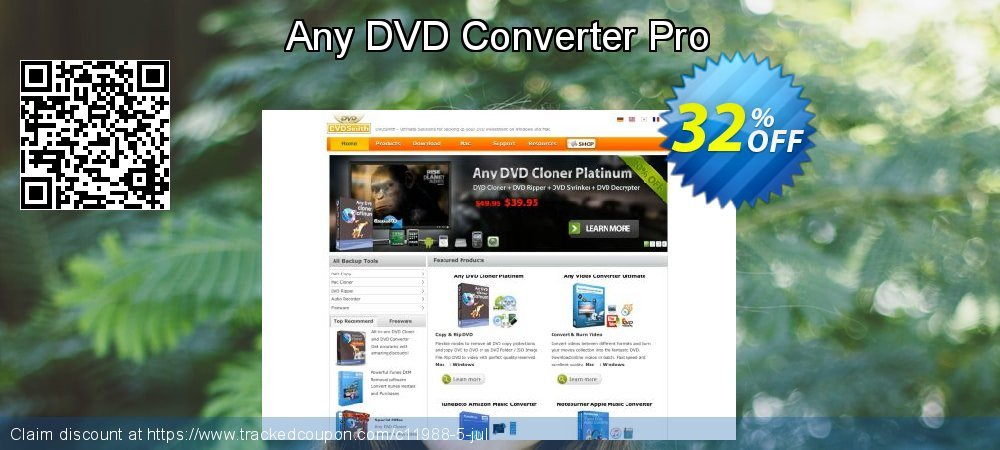Any DVD Converter Pro coupon on Summer deals
