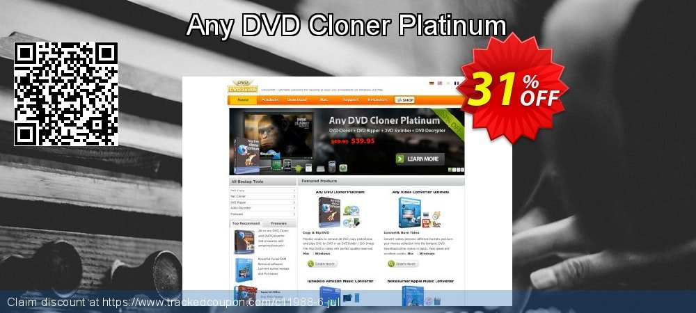 Any DVD Cloner Platinum coupon on Happy New Year offering sales