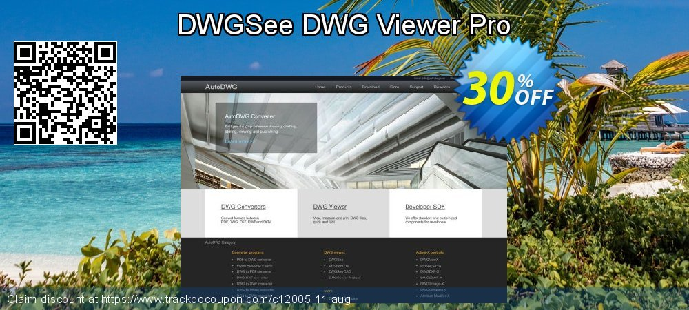 Get 30% OFF DWGSee DWG Viewer Pro offer