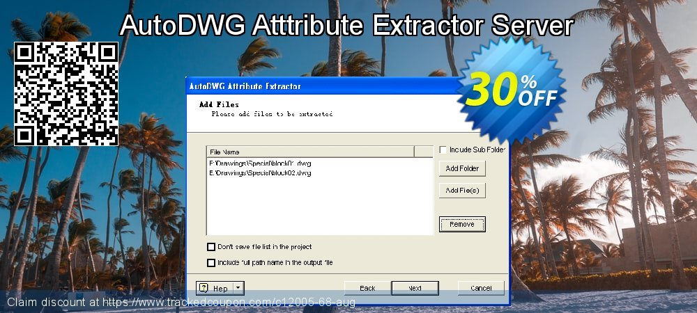 Get 25% OFF AutoDWG Attribute Extractor 2013 Site License discount