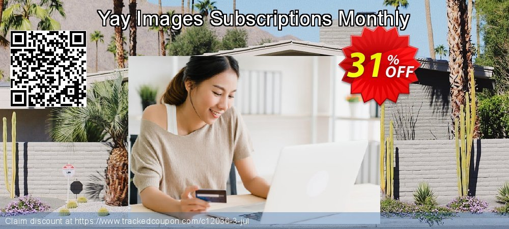 Yay Images Subscriptions Monthly coupon on Mothers Day sales