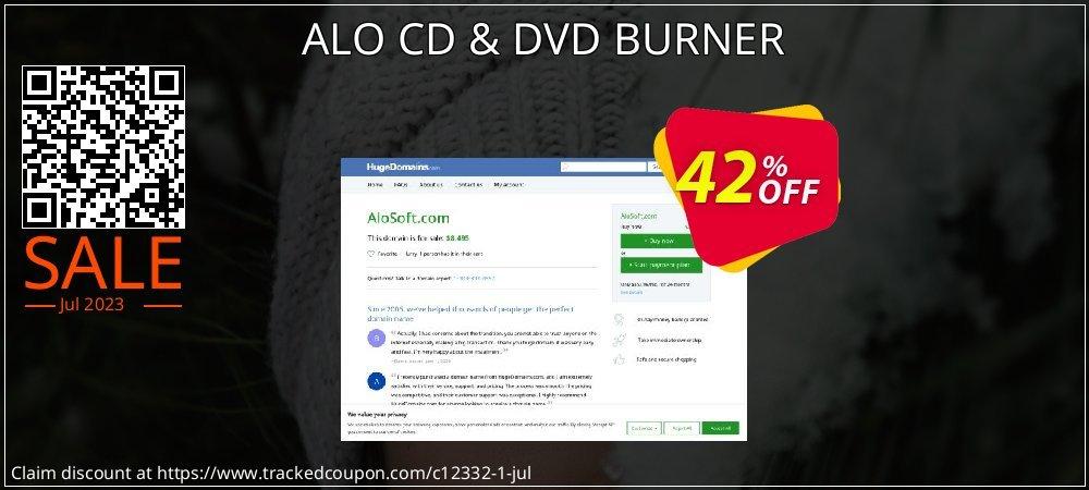 Get 40% OFF ALO CD & DVD BURNER promotions