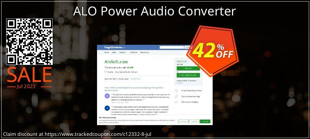 Get 40% OFF ALO Power Audio Converter offer
