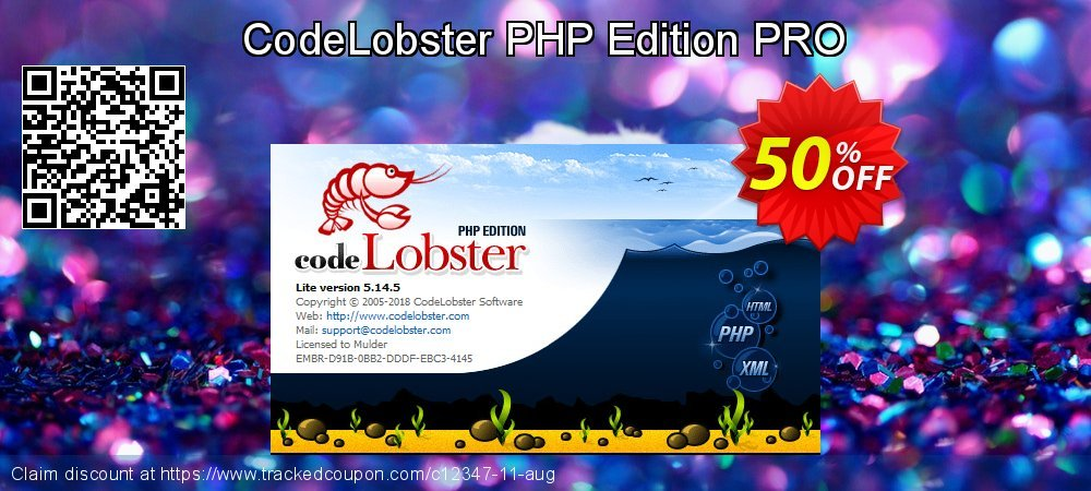 CodeLobster PHP Edition PRO coupon on Student deals promotions