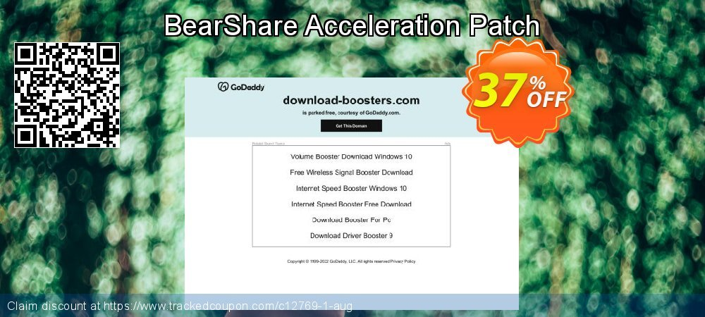 Get 35% OFF BearShare Acceleration Patch promotions