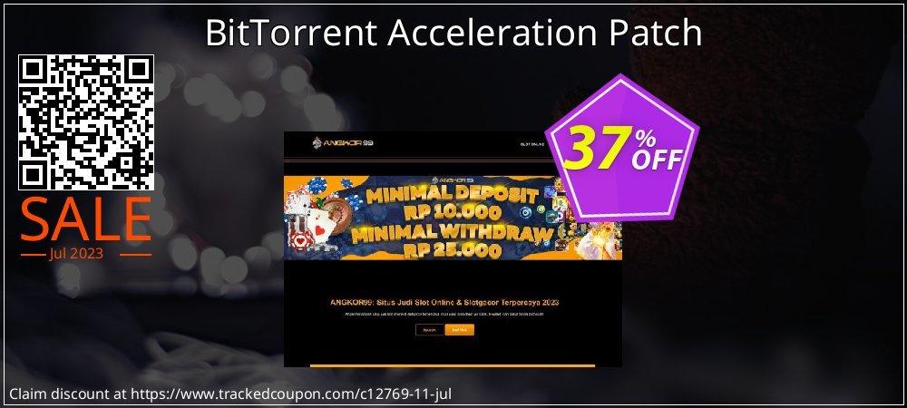 Get 35% OFF BitTorrent Acceleration Patch deals