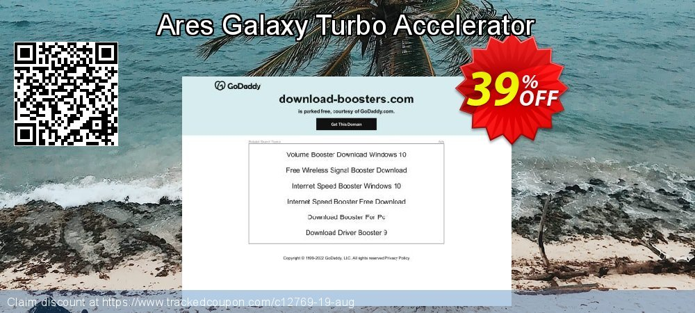 Get 35% OFF Ares Galaxy Turbo Accelerator offering sales
