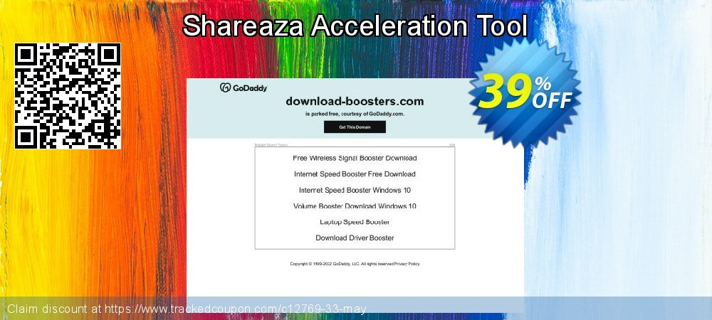 Get 35% OFF Shareaza Acceleration Tool promo