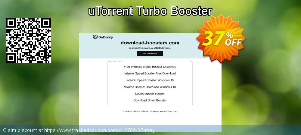 uTorrent Turbo Booster coupon on Father's Day discount