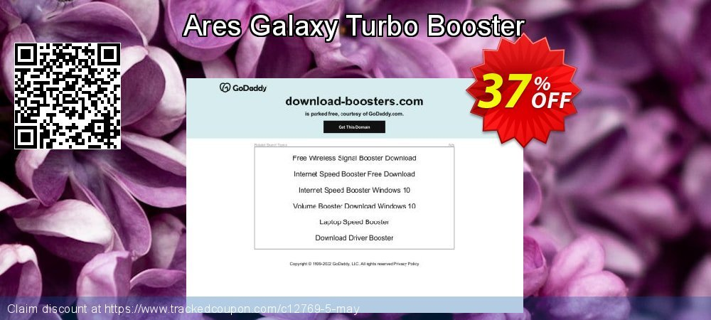 Ares Galaxy Turbo Booster coupon on  Lover's Day sales