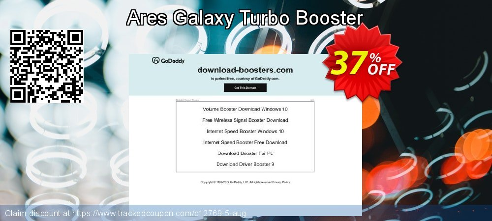 Ares Galaxy Turbo Booster coupon on Lunar New Year offer