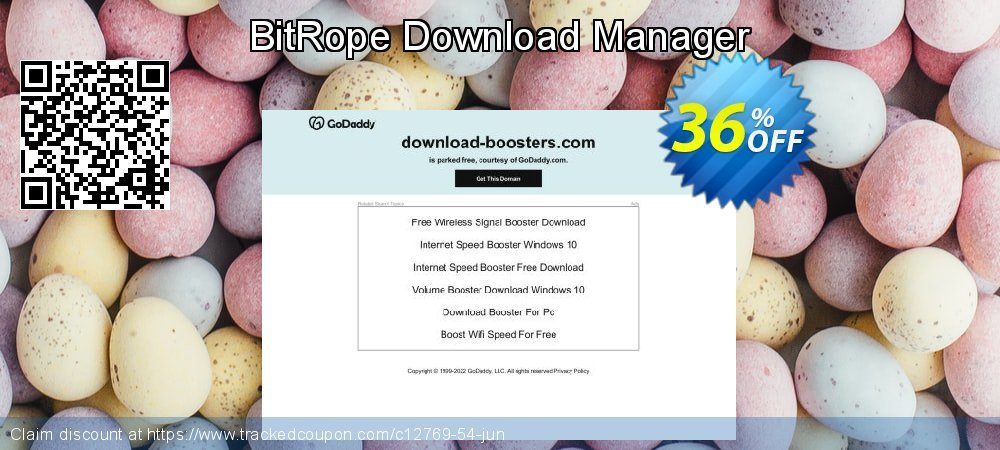 Get 35% OFF BitRope Download Manager offering sales