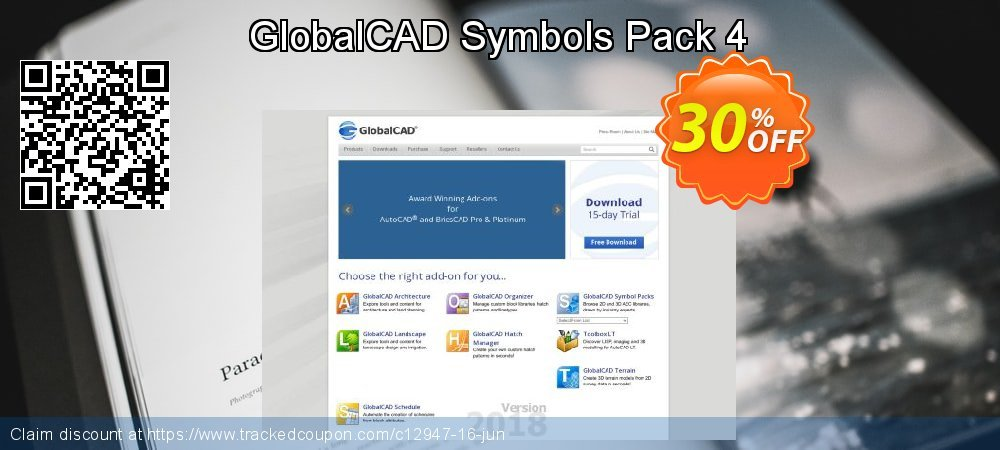 Get 30% OFF GlobalCAD Symbols Pack 4 offering sales