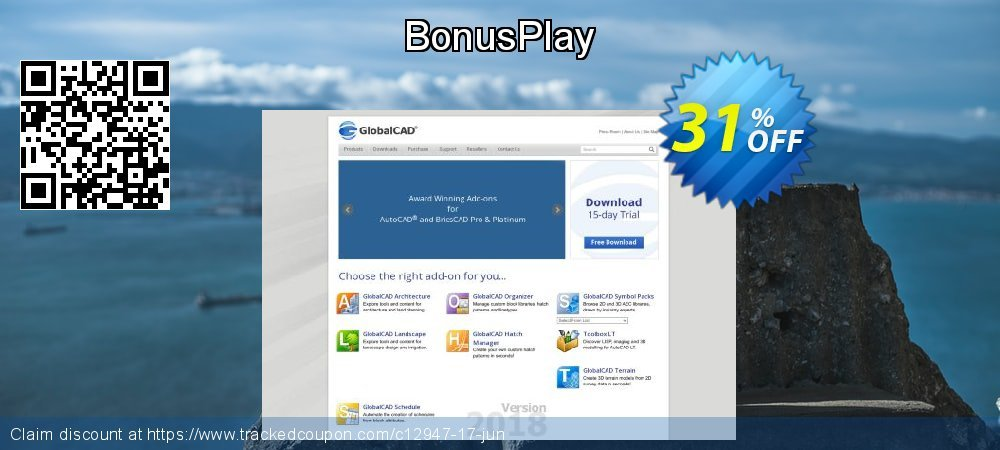 BonusPlay coupon on New Year's Day discount