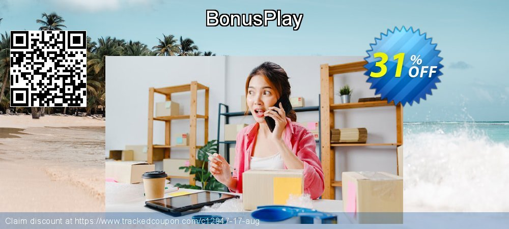 BonusPlay coupon on Back to School shopping deals