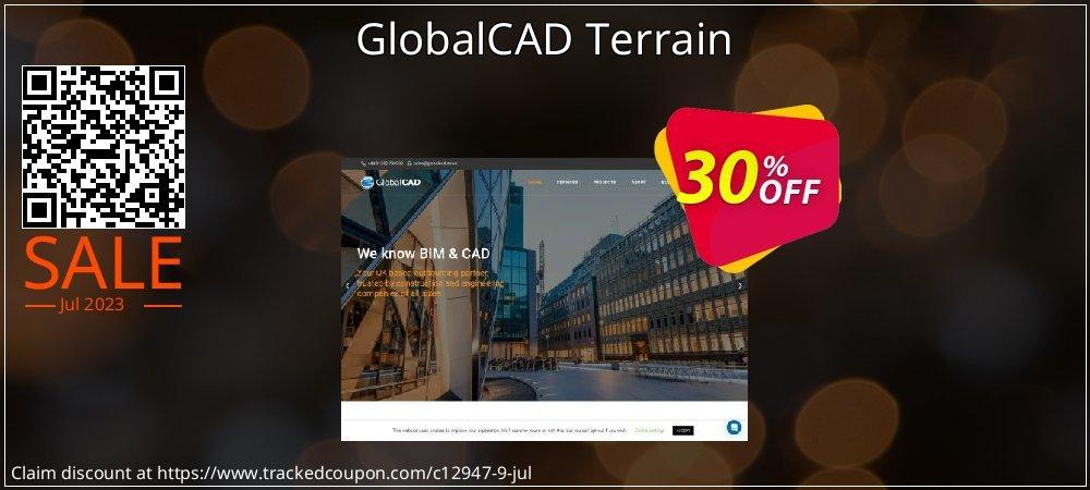 Get 30% OFF GlobalCAD Terrain sales