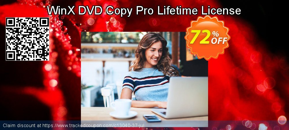Get 71% OFF WinX DVD Copy Pro Lifetime License offering sales
