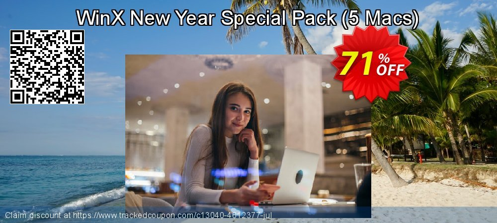 WinX New Year Special Pack - 5 Macs  coupon on Super bowl offer