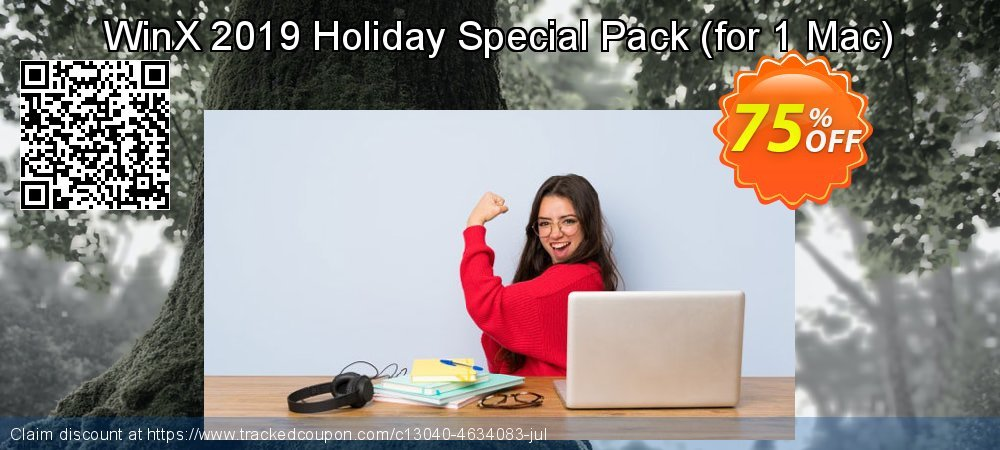 Get 10% OFF WinX 2019 Holiday Special Pack | for 1 Mac promo sales