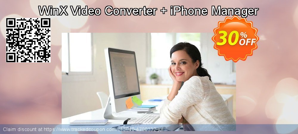 WinX Video Converter + iPhone Manager coupon on College Student deals discounts