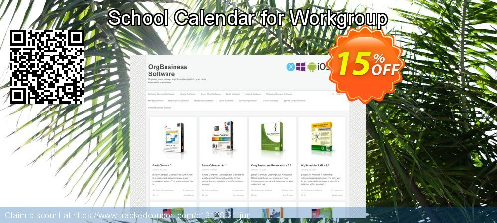 School Calendar for Workgroup coupon on New Year's Day promotions