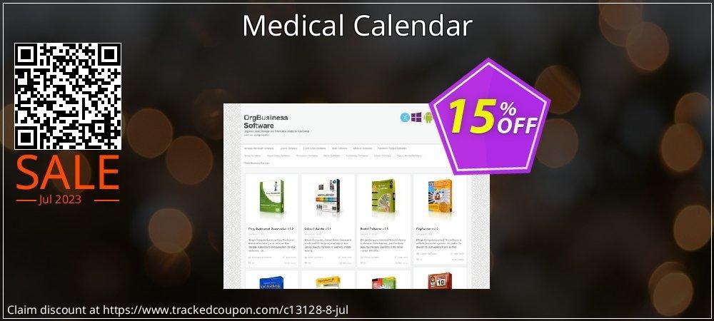 Get 15% OFF Medical Calendar promo sales