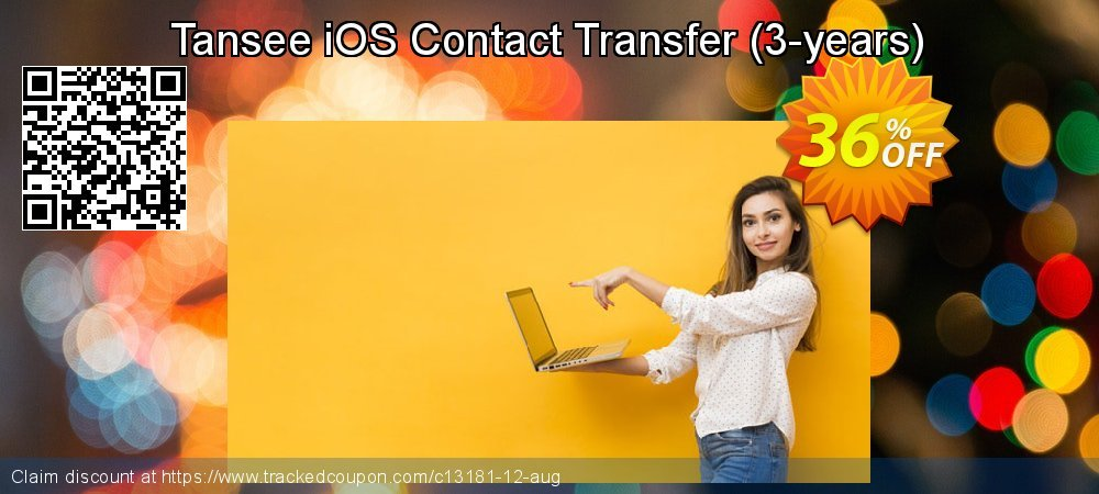 Tansee iOS Contact Transfer - 3-years  coupon on April Fool's Day deals